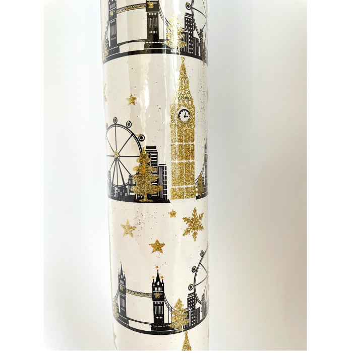 Unique - London Skyline Gold Wrap (Collection & Delivery)