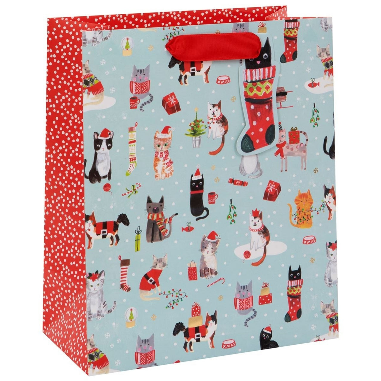 Glick - Xmas Cats Large Bag (Collection & Delivery)