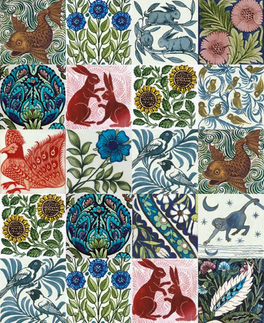 Museums and Galleries - Arts and crafts tile designs