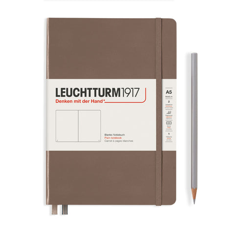 Leuchtturm A5 Plain Notebook - Warm Earth