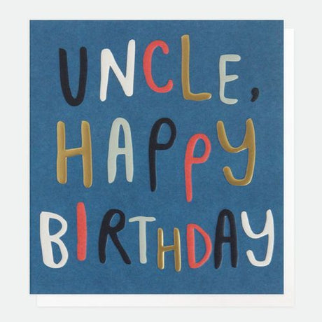 Caroline Gardner - Uncle Happy Birthday
