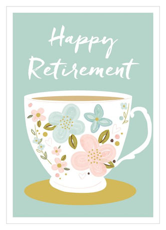 Think of Me - Retirement Teacup