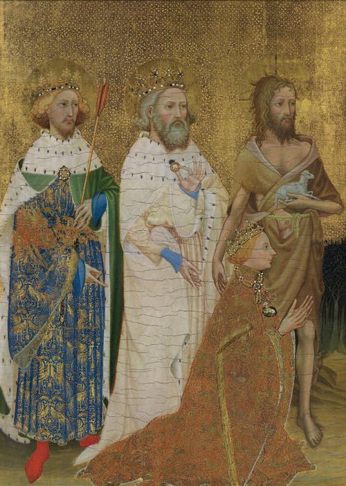 British Museum - Wilton Diptych - 3 Kings