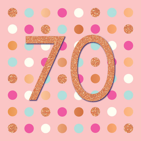Pigment - 70th Birthday Gold Dots