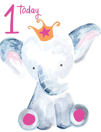 Paper Salad - Age 1 Pink Elephant