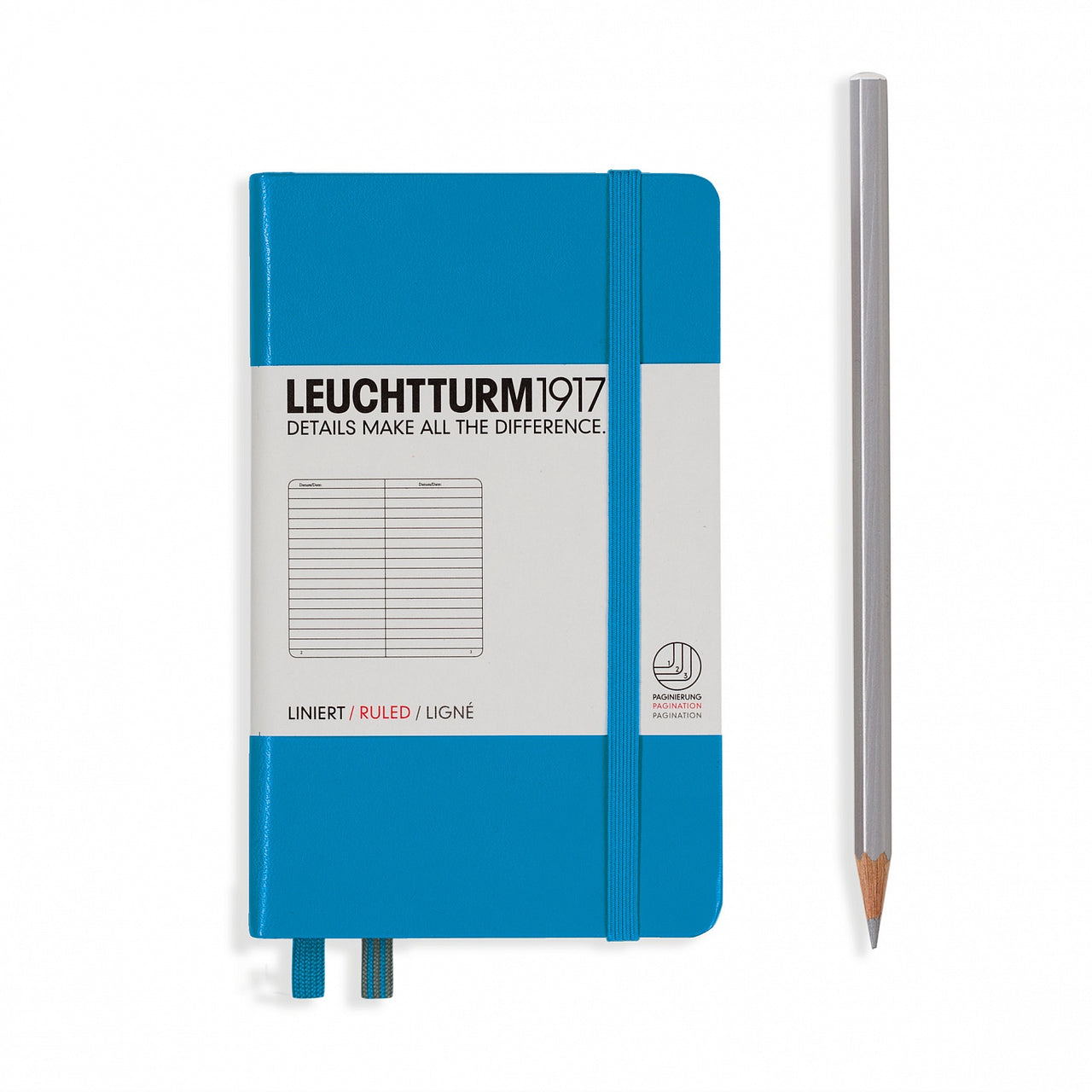 Leuchtturm A6 Ruled Notebook - Azure