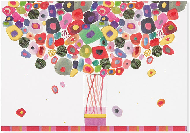 Peter Pauper - Candy Bouquet Notecards x 14