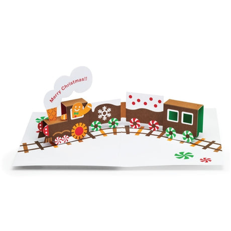 MoMA - Gingerbread Train