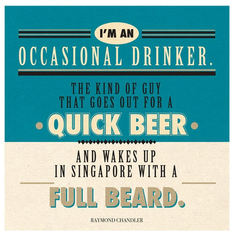 Occasional drinker