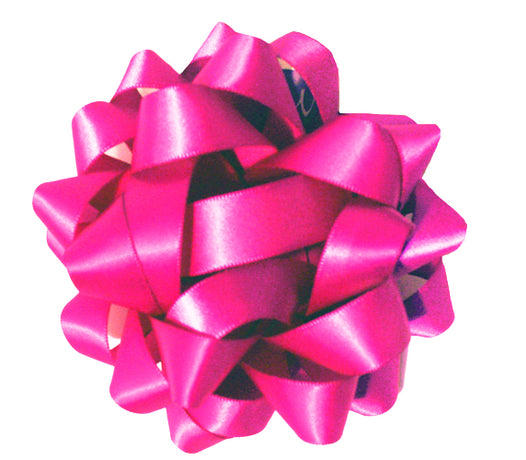 Satin bow - Fuchsia