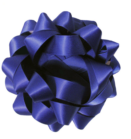 Satin bow - Royal Blue
