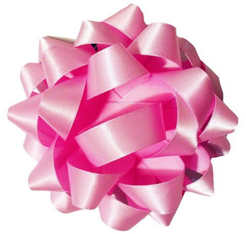 Satin bow - Soft Pink