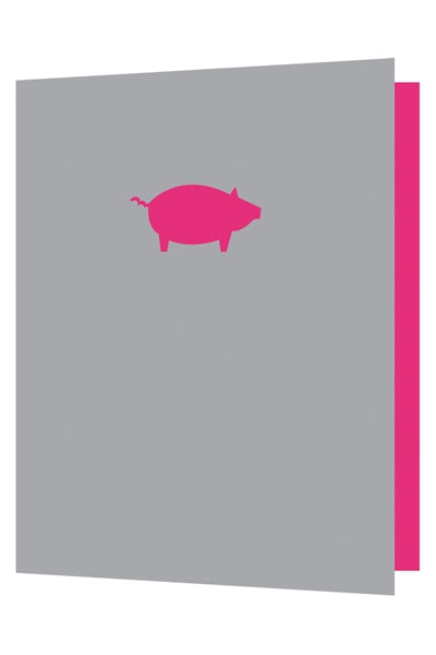 Bright New Things - Die cut pig