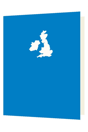 Bright New Things - Die cut British Isles