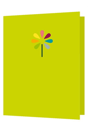 Bright New Things - Die cut flower