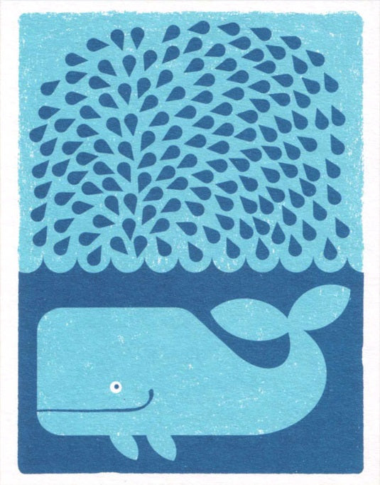 Lisa Jones Studio - Splashing whale