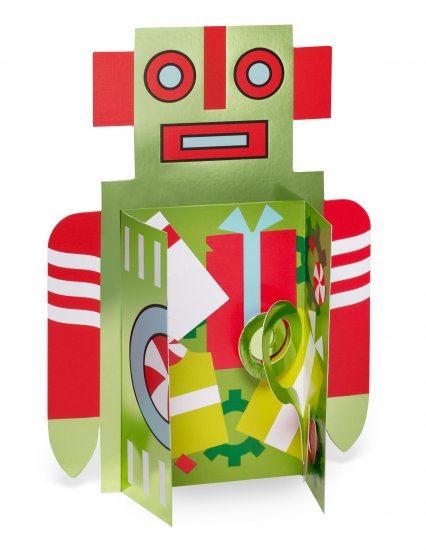 MOMA 3D Holiday Robot.