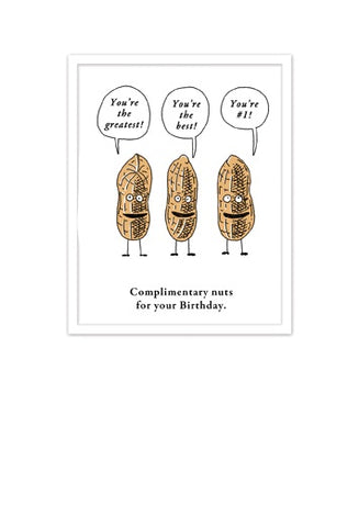 Etched - Complimentary nuts