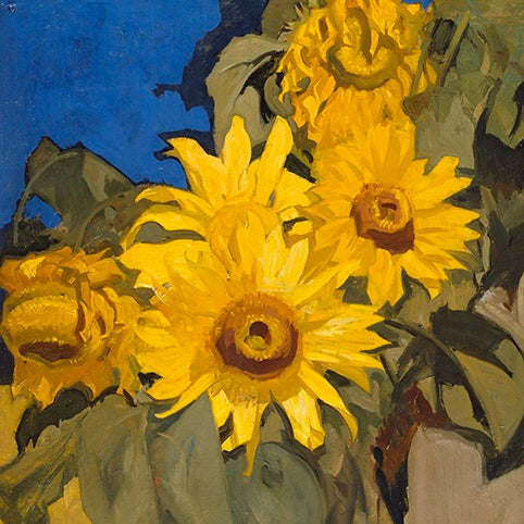 Sir Frank Brangwyn - Sunflowers