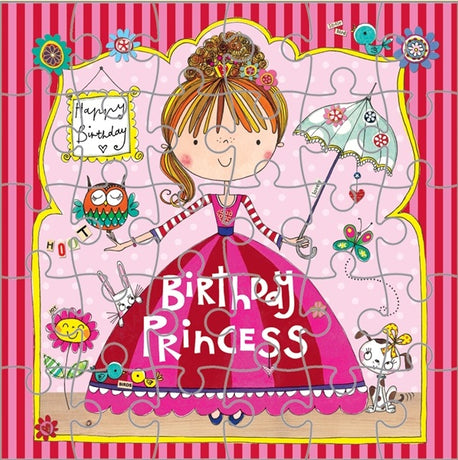 Jigsaw Card - Princess