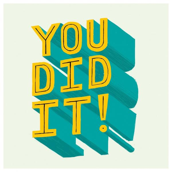 Urban Graphic - You did it