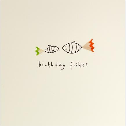 Pencil Shavings - Birthday fishes