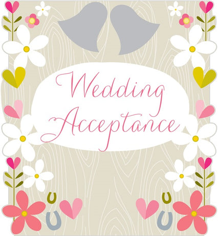 Think Of Me - Wedding Acceptance