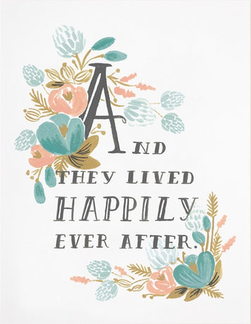 Rifle Paper -  Happily ever after