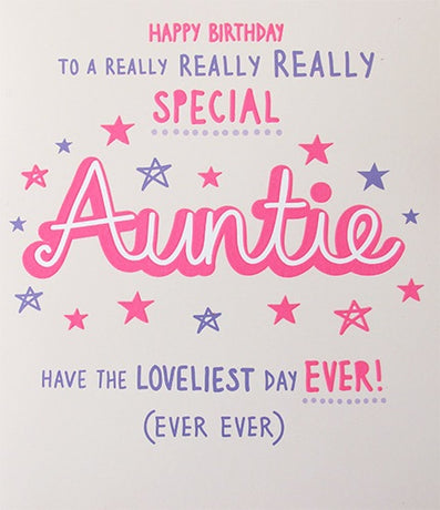 Paperlink - Auntie birthday