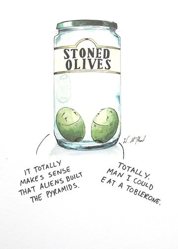 A Colourful Mind - Stoned Olives
