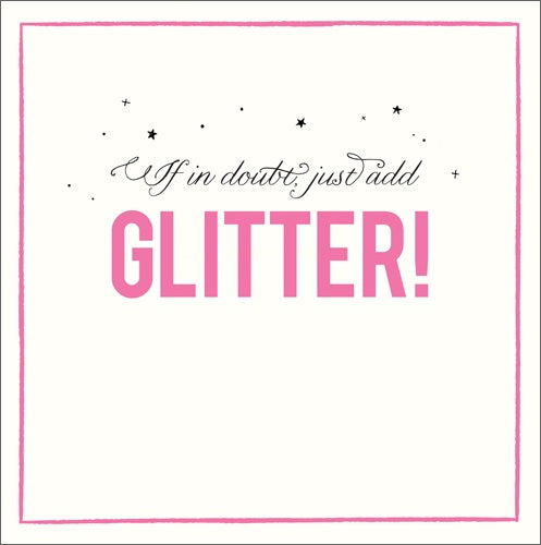 Alice Scott - Add glitter