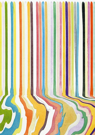 Ian Davenport - Etched Puddle No.3