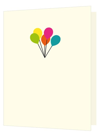 Bright New Things - Die cut Balloons