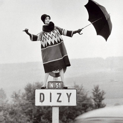 Norman Parkinson - Dizy, 1960