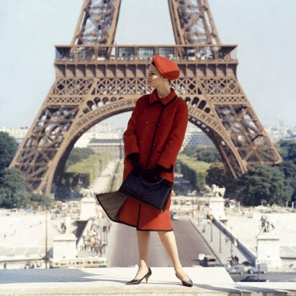 Norman Parkinson - Celia Hammond, Paris, 1962