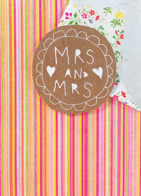 Paper Salad - Mrs and Mrs