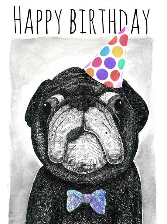 Jolly Awsome - Birthday Pug