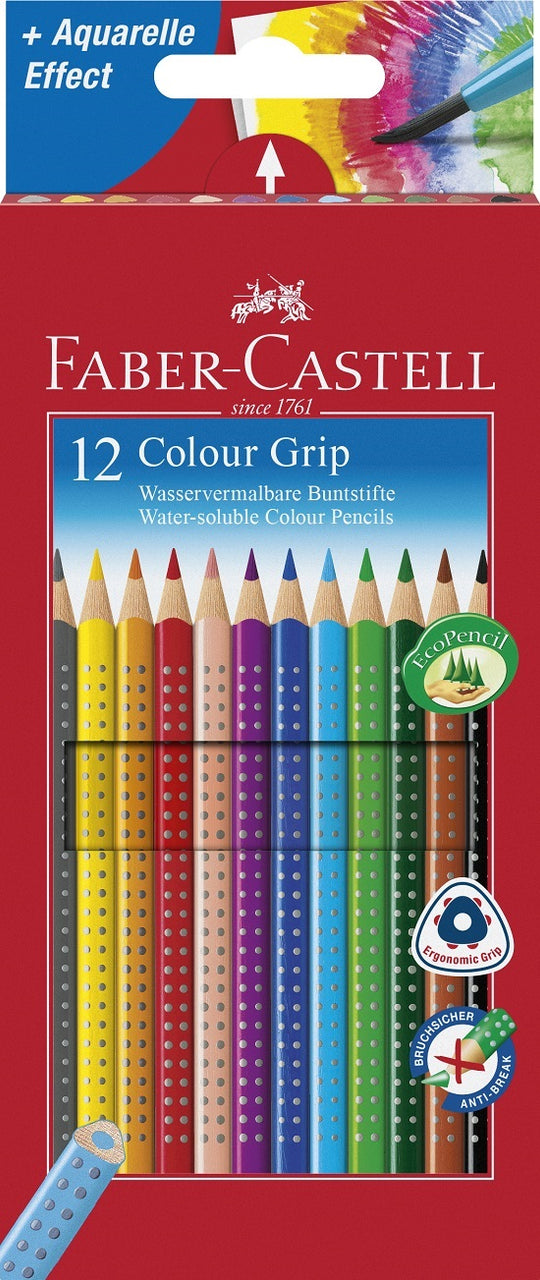 Stone Marketing - Faber Castell Grip Pencils x 12