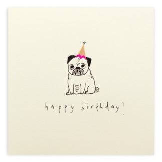 Pencil Shavings - Birthday Pug
