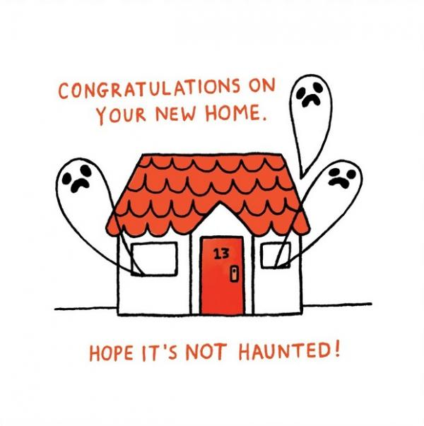Gemma Correll - Haunted new home