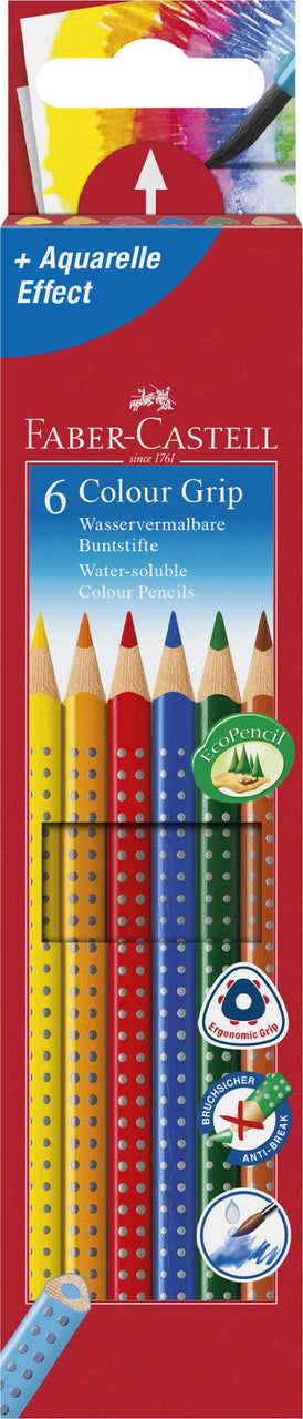 Stone Marketing - Faber-Castell Grip Pencils x 6