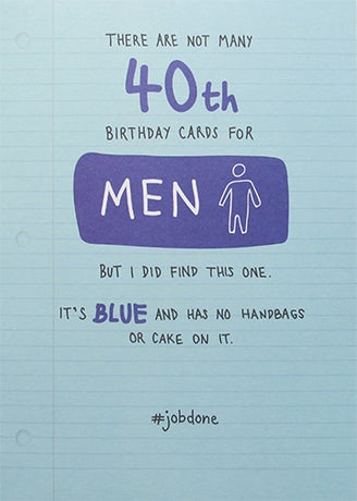 Paperlink - 40th man card
