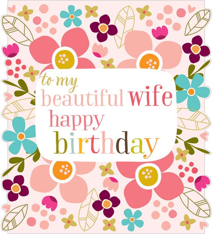 Think Of Me - Wife birthday