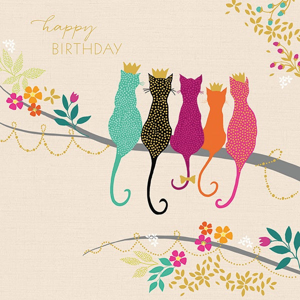 Sara Miller London - Birthday cats