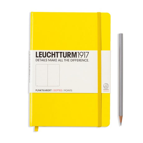 Leuchtturm A5 Dotted Notebook - Yellow