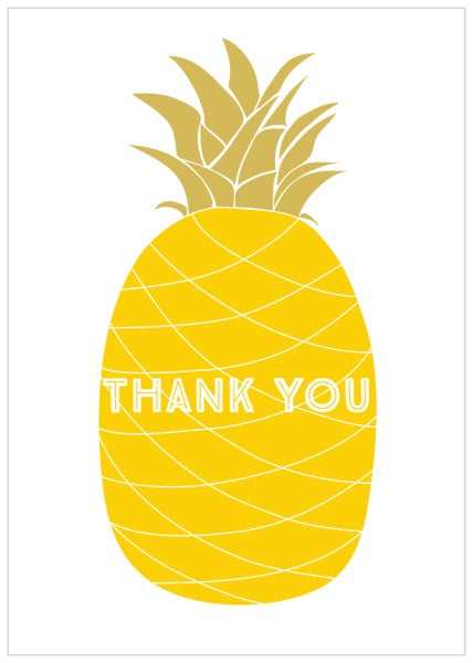 Think Of Me - Thank you pineapple
