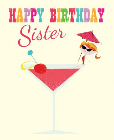 Ink Press - Sister birthday