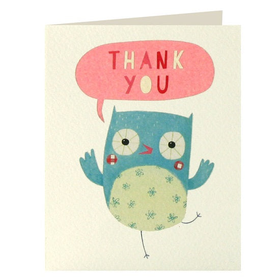 Owl thank you x 5