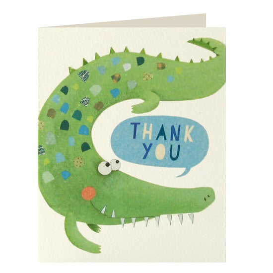 Crocodile thank you x 5