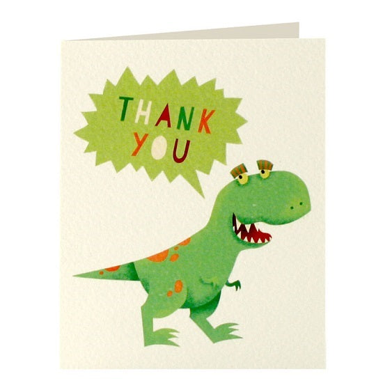 Dinosaur thank you x 5